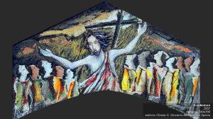 2007-Il redentore-mosaico-390x240-Esterno Chiesa S. Giovanni Battista, La Spezia copy